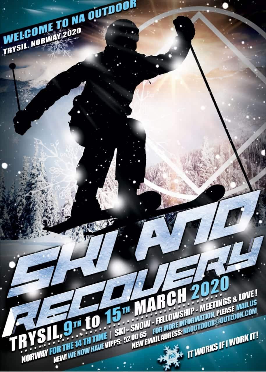 """Ski and Recovery 14"" (Лыжи и выздоровление)"